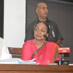Sonia Gandhi calls presidential polls an 'ideological battle' as Meira Kumar files nomination papers