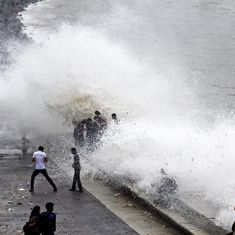 Mumbai: Girl washed away at Marine Drive as rain continues in the city