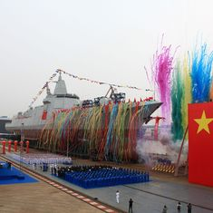 Chinese Navy launches its biggest destroyer