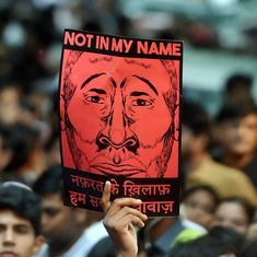 In photos: 'Not in My Name' campaign unites citizens at countrywide protests against lynchings