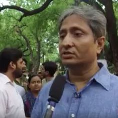 'Those who witnessed the killing will be plagued by sickness', says Ravish Kumar at protest meet