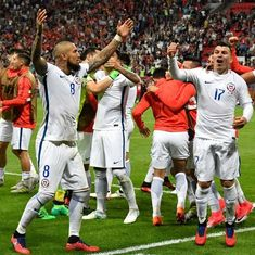 Confederations Cup: Chile's remarkable surge continues after reaching third straight final