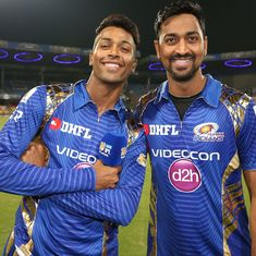 Dream is to play World Cup 2019 alongside Hardik, says Krunal Pandya