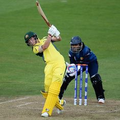 Athapaththu's monumental effort goes in vain as Meg Lanning masterminds 8-wicket win for Australia