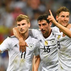 Confederations Cup: Germany thrash Mexico 4-1, to face Chile in final