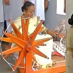 राष्ट्रपति चुनाव: संयुक्त विपक्ष की उम्मीदवार मीरा कुमार ने गुजरात से प्रचार अभियान शुरू किया