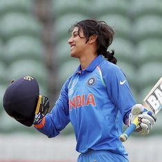 'If people are watching us, it will motivate us to do better': Smriti Mandhana
