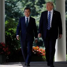 United States needs our consent to attack North, says South Korean President Moon Jae-in