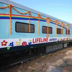 Watch: The world's first hospital train has been serving rural India for over two decades