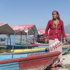 Watch: The story of Nepal's tourist boat rowers has a tough exterior but is heartbreaking