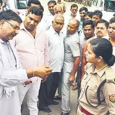 UP authorities transfer police officer who did not allow a group of BJP men to bully her
