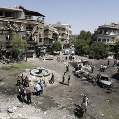 Syria: 18 killed, 15 wounded in three suicide car bombings in Damascus