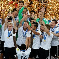 Lars Stindl's first-half goal wins Germany their maiden Confederations Cup title