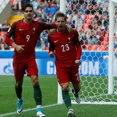 Confederations Cup: Portugal beat Mexico to finish third