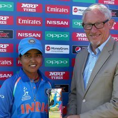 I'm really happy that Ekta Bisht rose to the occasion, says a delighted Mithali Raj