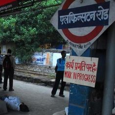 Mumbai's Elphinstone Road station has officially been renamed 'Prabhadevi'