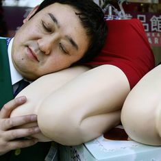 In Japan, pillows can be a sex partner