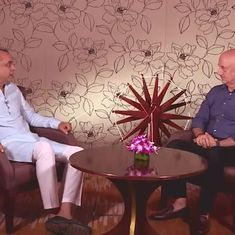 'What were your first memories of the country' and other questions on Anupam Kher's chat show