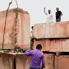 राम मंदिर निर्माण के लिए तीन ट्रक पत्थर अयोध्या पहुँचने सहित दिन के बड़े समाचार
