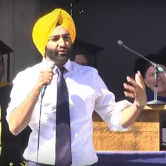 Watch: This Sikh student's graduation speech at UC Berkeley about uniting the world is going viral