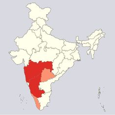 This map shows how severe India's swine flu outbreak is this year