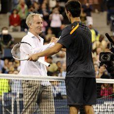 'I don't take anything personal': Novak Djokovic shrugs off McEnroe's Tiger Woods comparison