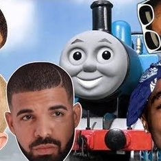 Watch what happens when Thomas the Tank Engine meets iconic rappers for a foot-tapping ride
