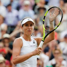 Wimbledon: Johanna Konta defeats Maria Sakkari, advances into the last-16 for the first time