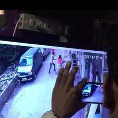 Caught on camera: Delhi woman is stabbed to death in daylight, while passersby pay no attention
