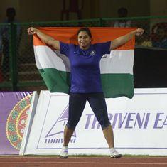 'Mommy, please bring a gold medal home': Shot-putter Manpreet Kaur lives up to her billing