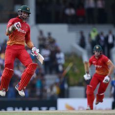 Zimbabwe stun Sri Lanka again to level five-match series 2-2