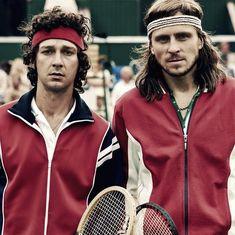 Watch: Tennis greats clash in biopic 'Borg vs. McEnroe'