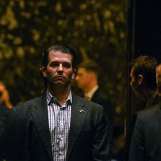 Donald Trump's son releases emails that show Russia's offer to support the presidential campaign
