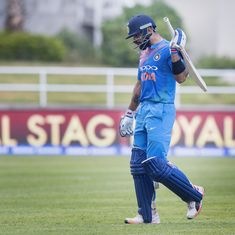 Data check: How does the amount of cricket Kohli plays compare to Gavaskar, Tendulkar, Dhoni?