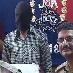कश्मीर में कई आतंकी हमलों और लूटपाट में शामिल रहे लश्कर के दो आतंकी गिरफ्तार