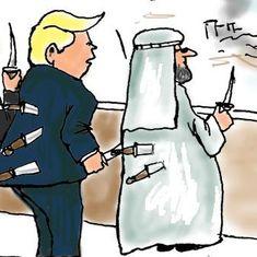 कार्टून : लड़ाई की इस कढ़ाई में उबाल जारी रहेगा