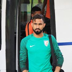 'I have a lot of time in hand': Goalkeeper Amrinder Singh is not fretting over India selection