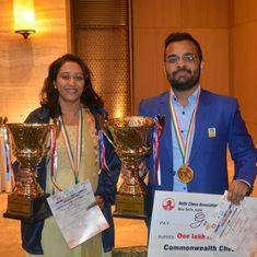 Abhijeet Gupta, Swati Ghate clinch gold at Commonwealth Chess Championship