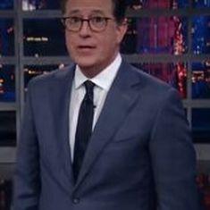 Watch: Stephen Colbert takes apart Donald Trump Jr's Russian lawyer meeting