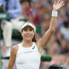 Wimbledon day 8 highlights: Djokovic's pitch fury, Konta's historic win and Venus turns back clock