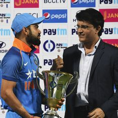 Virat Kohli's support for under-fire MS Dhoni is fantastic: Sourav Ganguly