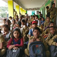 Children are leaving private schools for government schools in some Uttar Pradesh villages
