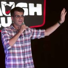 Watch: A stand-up comedian walks into a bar with his father (who has never drunk before)