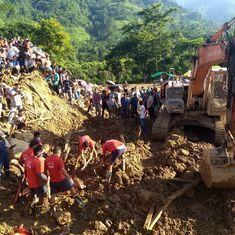 Is hectic highway building in Arunachal Pradesh leading to more landslides?