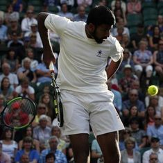 Wimbledon: Rohan Bopanna, Divij Sharan crash out in second round of mixed doubles