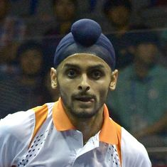 Indian Squash Open: Sandhu, Mangaonkar stun seeded rivals to enter quarters