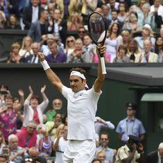 Roger Federer beats Tomas Berdych to reach 11th Wimbledon final