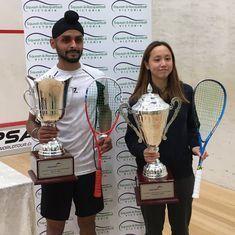 India's Harinder Pal Sandhu wins Victorian Squash Open title