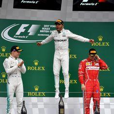 Formula One: Lewis Hamilton wins fourth consecutive British Grand Prix