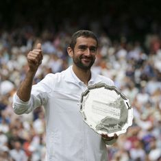 'It was all very tough emotionally,' says Cilic after Wimbledon final loss